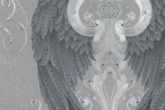 58550 cikkszámú tapéta.Különleges felületű,különleges motívumos,metál-fényes,ezüst,fekete,szürke,lemosható,vlies panel, fotótapéta