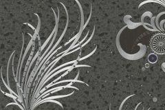 58557 cikkszámú tapéta.Különleges felületű,különleges motívumos,metál-fényes,ezüst,fekete,szürke,lemosható,vlies panel, fotótapéta