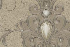 58559 cikkszámú tapéta.Barokk-klasszikus,különleges felületű,különleges motívumos,metál-fényes,arany,bézs-drapp,lemosható,vlies panel, fotótapéta