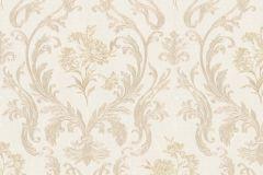 30602 cikkszámú tapéta.Barokk-klasszikus,különleges felületű,metál-fényes,arany,bézs-drapp,súrolható,vlies tapéta
