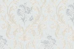30604 cikkszámú tapéta.Barokk-klasszikus,különleges felületű,metál-fényes,arany,kék,súrolható,vlies tapéta