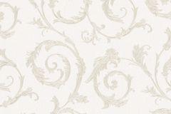 30610 cikkszámú tapéta.Barokk-klasszikus,különleges felületű,metál-fényes,arany,fehér,súrolható,vlies tapéta