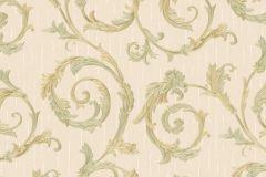 30611 cikkszámú tapéta.Barokk-klasszikus,különleges felületű,metál-fényes,arany,pink-rózsaszín,súrolható,vlies tapéta