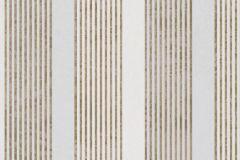 53105 cikkszámú tapéta.Csíkos,metál-fényes,arany,szürke,lemosható,illesztés mentes,vlies tapéta