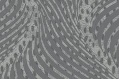 57905 cikkszámú tapéta.3d hatású,absztrakt,geometriai mintás,ezüst,szürke,lemosható,vlies tapéta