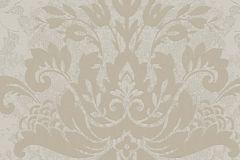 57921 cikkszámú tapéta.Barokk-klasszikus,ezüst,gyöngyház,szürke,lemosható,vlies tapéta