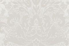 57924 cikkszámú tapéta.Barokk-klasszikus,ezüst,fehér,lemosható,vlies tapéta