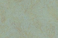 31333 cikkszámú tapéta.Absztrakt,különleges felületű,metál-fényes,arany,türkiz,lemosható,vlies tapéta