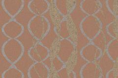 58120 cikkszámú tapéta.Absztrakt,dekor,különleges felületű,arany,narancs-terrakotta,szürke,lemosható,illesztés mentes,vlies tapéta