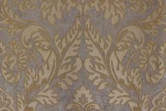 56804 cikkszámú tapéta.Barokk-klasszikus,arany,barna,bézs-drapp,ezüst,szürke,lemosható,vlies tapéta