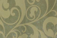 56807 cikkszámú tapéta.Barokk-klasszikus,zöld,lemosható,vlies tapéta