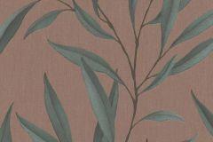 32205 cikkszámú tapéta.Természeti mintás,textilmintás,barna,zöld,súrolható,vlies tapéta