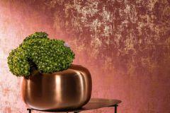 58004 cikkszámú tapéta.Egyszínű,kőhatású-kőmintás,narancs-terrakotta,piros-bordó,lemosható,illesztés mentes,vlies tapéta