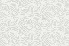 58028 cikkszámú tapéta.Absztrakt,csillámos,geometriai mintás,ezüst,fehér,szürke,lemosható,vlies tapéta
