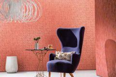 58030 cikkszámú tapéta.Absztrakt,csillámos,geometriai mintás,arany,narancs-terrakotta,pink-rózsaszín,piros-bordó,lemosható,vlies tapéta