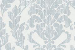 58036 cikkszámú tapéta.Barokk-klasszikus,kék,türkiz,zöld,lemosható,vlies tapéta