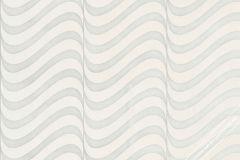 56002 cikkszámú tapéta.3d hatású,absztrakt,metál-fényes,fehér,szürke,vajszín,lemosható,vlies  tapéta