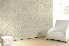 56004 cikkszámú tapéta.Különleges felületű,különleges motívumos,bézs-drapp,fehér,lemosható,vlies  tapéta