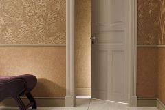 56008 cikkszámú tapéta.Absztrakt,különleges felületű,különleges motívumos,barna,bézs-drapp,bronz,lemosható,vlies  tapéta