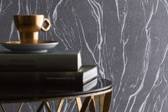 58201 cikkszámú tapéta.Egyszínű,kőhatású-kőmintás,ezüst,szürke,lemosható,vlies tapéta