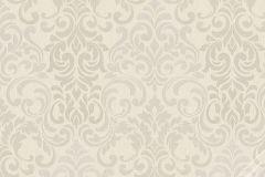58207 cikkszámú tapéta.Barokk-klasszikus,ezüst,fehér,szürke,lemosható,vlies tapéta