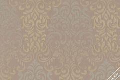 58208 cikkszámú tapéta.Barokk-klasszikus,barna,bézs-drapp,szürke,lemosható,vlies tapéta