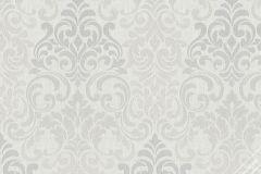 58211 cikkszámú tapéta.Barokk-klasszikus,ezüst,szürke,lemosható,vlies tapéta
