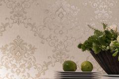 58224 cikkszámú tapéta.Barokk-klasszikus,ezüst,szürke,lemosható,vlies tapéta