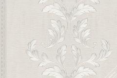 58251 cikkszámú tapéta.Barokk-klasszikus,ezüst,fehér,szürke,lemosható,illesztés mentes,vlies tapéta