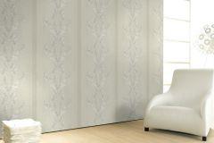 58252 cikkszámú tapéta.Barokk-klasszikus,bézs-drapp,fehér,szürke,lemosható,illesztés mentes,vlies tapéta