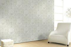 58264 cikkszámú tapéta.Barokk-klasszikus,fehér,vajszín,lemosható,vlies tapéta