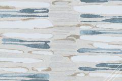 31226 cikkszámú tapéta.Absztrakt,különleges felületű,barna,bézs-drapp,fehér,kék,lemosható,vlies tapéta