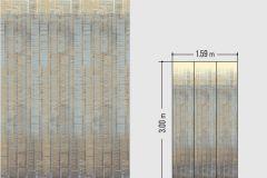 46537 cikkszámú tapéta.Absztrakt,különleges felületű,kék,szürke,vajszín,lemosható,vlies tapéta