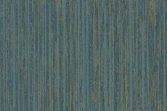 55525 cikkszámú tapéta.Csíkos,arany,kék,türkiz,zöld,illesztés mentes,lemosható,vlies tapéta