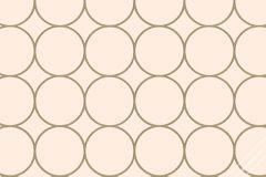 59714 cikkszámú tapéta.Geometriai mintás,különleges felületű,különleges motívumos,retro,arany,pink-rózsaszín,lemosható,vlies tapéta