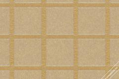 59736 cikkszámú tapéta.Geometriai mintás,különleges felületű,különleges motívumos,retro,arany,bézs-drapp,lemosható,vlies tapéta