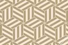 59740 cikkszámú tapéta.Absztrakt,geometriai mintás,különleges felületű,különleges motívumos,retro,arany,bronz,pink-rózsaszín,lemosható,vlies tapéta