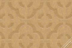 59771 cikkszámú tapéta.Absztrakt,geometriai mintás,különleges felületű,különleges motívumos,arany,lemosható,vlies tapéta