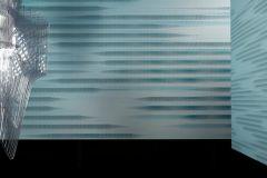 58332 cikkszámú tapéta.Absztrakt,különleges felületű,kék,lemosható,papír tapéta