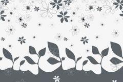 DM203-1 cikkszámú tapéta.Absztrakt,gyerek,rajzolt,retro,természeti mintás,virágmintás,fehér,szürke,gyengén mosható,vlies poszter, fotótapéta