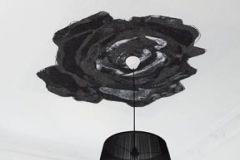 DM212-2 cikkszámú tapéta.Rajzolt,retro,virágmintás,fehér,fekete,szürke,gyengén mosható,vlies poszter, fotótapéta