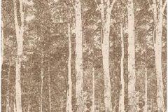 DM216-1 cikkszámú tapéta.Fa hatású-fa mintás,különleges motívumos,rajzolt,tájkép,természeti mintás,barna,bézs-drapp,gyengén mosható,vlies poszter, fotótapéta