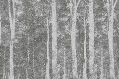 DM216-2 cikkszámú tapéta.Retro,természeti mintás,absztrakt,fa hatású-fa mintás,különleges motívumos,tájkép,rajzolt,fehér,szürke,fekete,gyengén mosható,vlies poszter, fotótapéta
