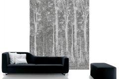 DM216-2 cikkszámú tapéta.Absztrakt,fa hatású-fa mintás,különleges motívumos,rajzolt,retro,tájkép,természeti mintás,fehér,fekete,szürke,gyengén mosható,vlies poszter, fotótapéta