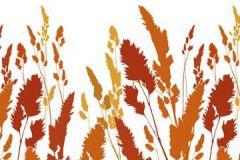 DM220-2 cikkszámú tapéta.Gyerek,különleges motívumos,rajzolt,retro,természeti mintás,bézs-drapp,fehér,narancs-terrakotta,piros-bordó,sárga,gyengén mosható,vlies poszter, fotótapéta