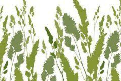 DM220-3 cikkszámú tapéta.Gyerek,különleges motívumos,rajzolt,természeti mintás,fehér,zöld,gyengén mosható,vlies poszter, fotótapéta