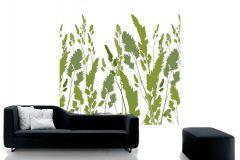 DM220-3 cikkszámú tapéta.Különleges motívumos,rajzolt,természeti mintás,fehér,zöld,gyengén mosható,vlies poszter, fotótapéta