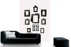 DM226-1 cikkszámú tapéta.Retro,különleges motívumos,fotórealisztikus,rajzolt,fehér,fekete,gyengén mosható,vlies poszter, fotótapéta
