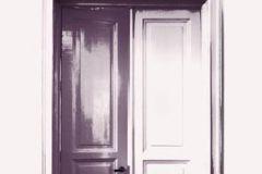 DM232-2 cikkszámú tapéta.Különleges motívumos,rajzolt,retro,fehér,fekete,lila,pink-rózsaszín,szürke,gyengén mosható,vlies poszter, fotótapéta