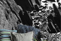 P170101-4 cikkszámú tapéta.3d hatású,fotórealisztikus,tájkép,természeti mintás,fehér,fekete,szürke,gyengén mosható,vlies poszter, fotótapéta